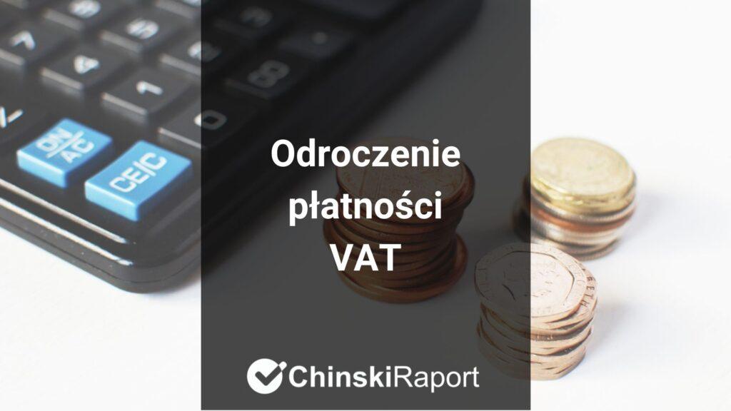 Odroczenie płatności VAT