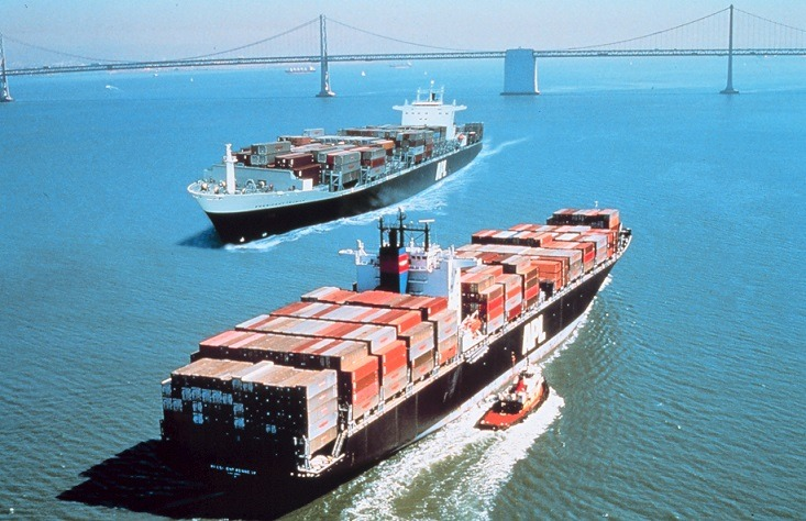 chiński export spada