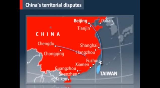 chińskie żądania terytorialne
