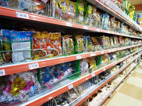 chiński rynek żywności