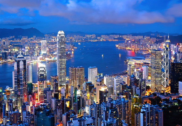 Hong kong - brama do Chin