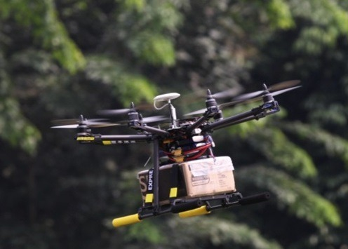 import z Chin dronów