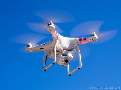 dron DJI z Chin