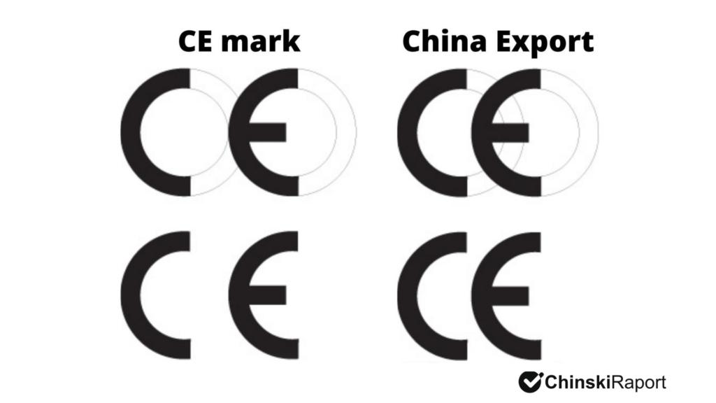 Znak CE a China Export