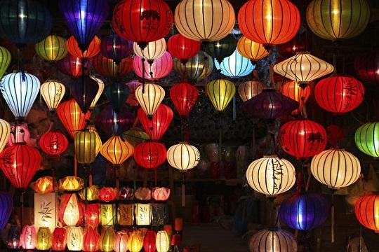 święto latarni w Chinach