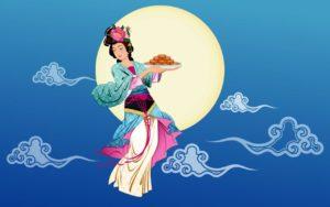 Bogini księżyca - Święto Środka Jesieni