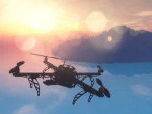 drony w chinach