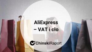 Aliexpress cło i VAT