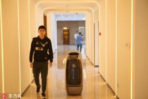 hotel przyszłości w Chinach