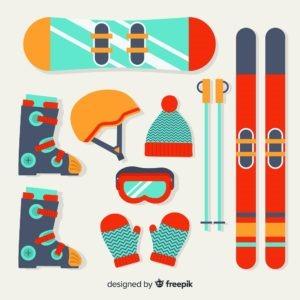 import sprzętu do sportów zimowych