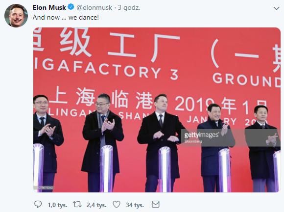 Elon Musk w Chinach