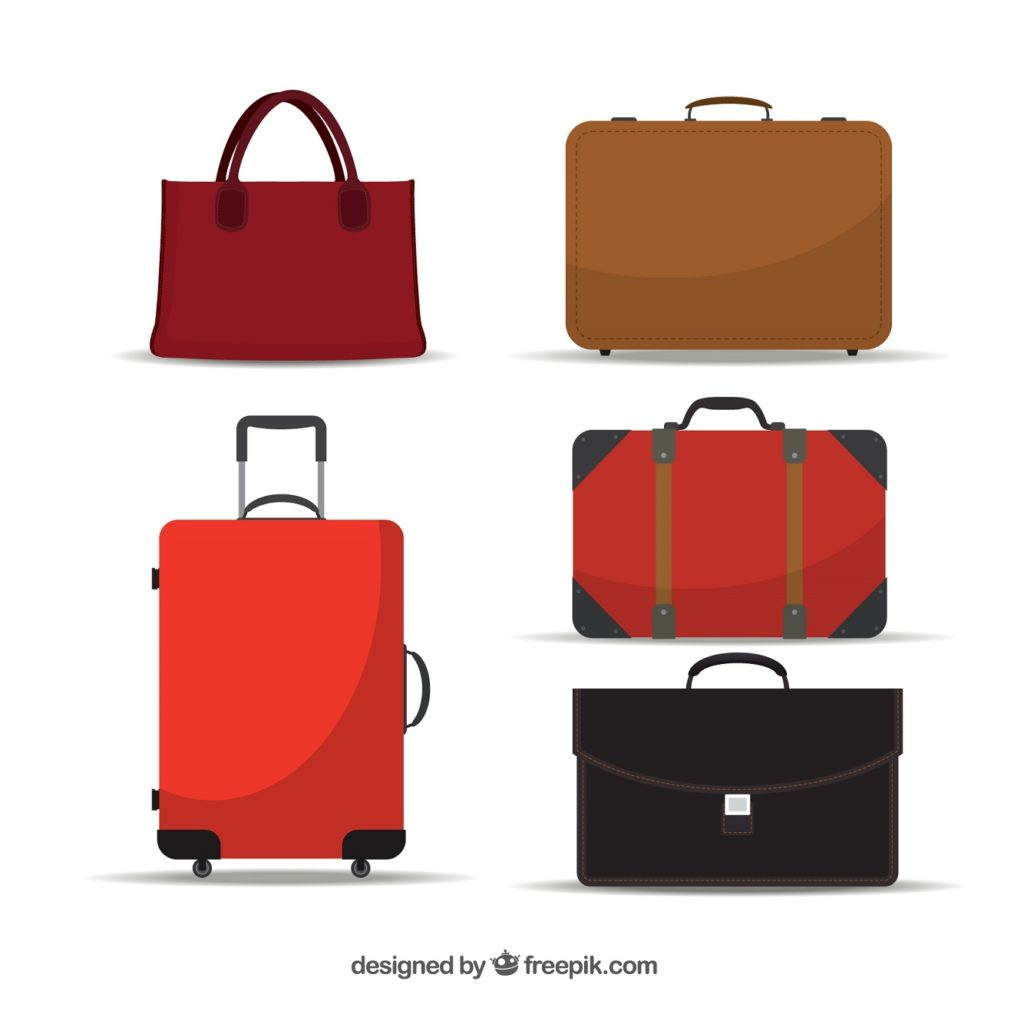 import toreb i walizek z Chin