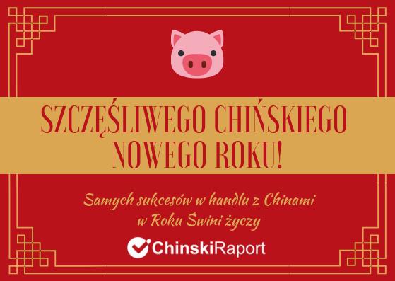 życzenia z okazji Chińskiego Nowego Roku