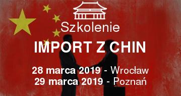 Import z Chin - Szkolenie