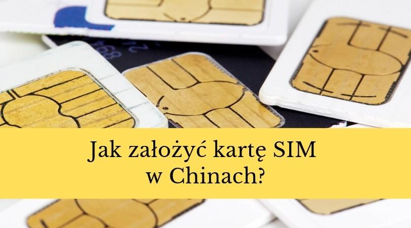 chińska karta SIM