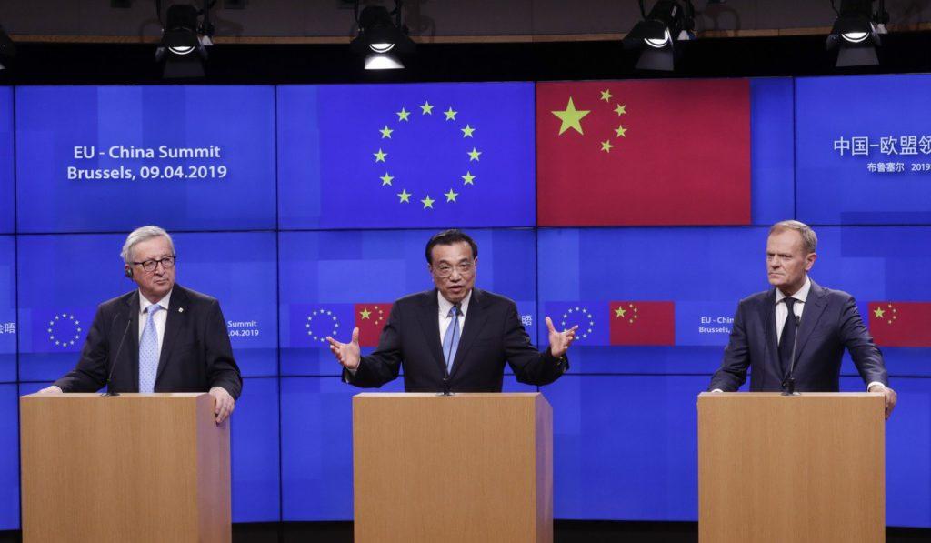 Li Keqiang w Europie