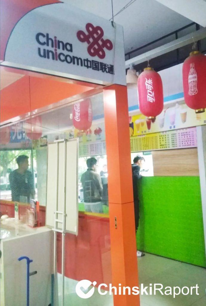 jak kupić kartę SIM w Chinach