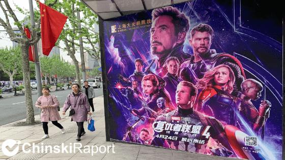Avengers: Koniec gry bije rekordy w Chinach