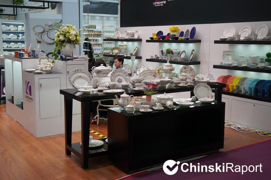 zastawa stołowa z Chin