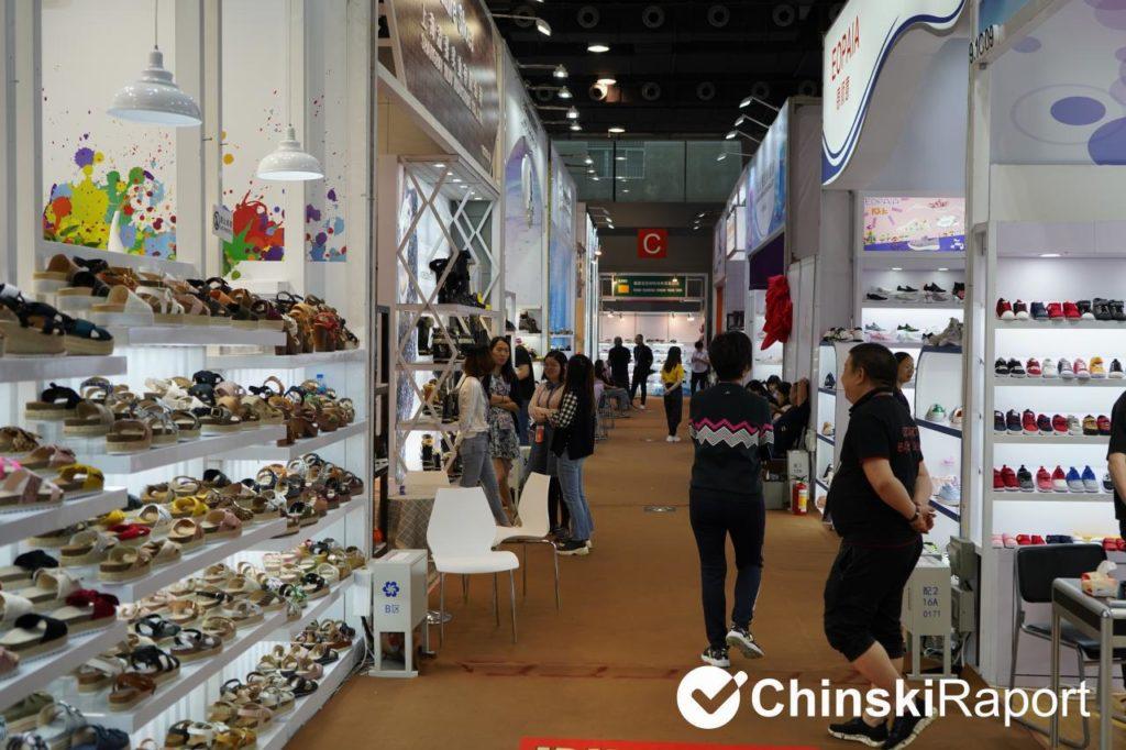 targi w Kantonie - obuwie