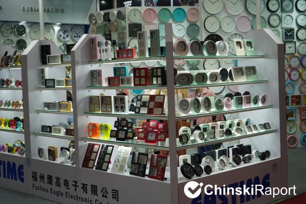zegary z Chin