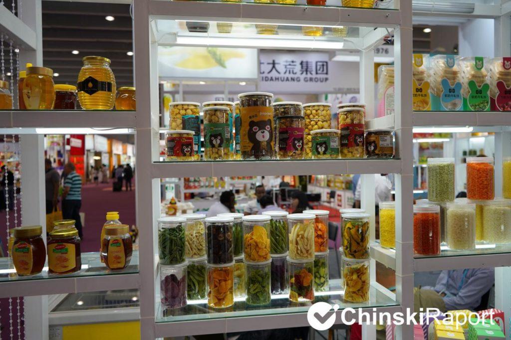 targi w Kantonie - żywność