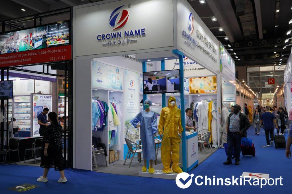 targi w Kantonie - sprzęt medyczny