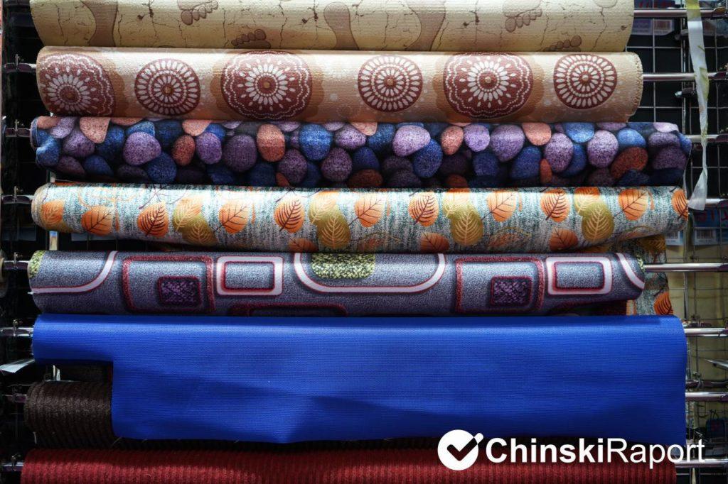 targi w Kantonie - dywany