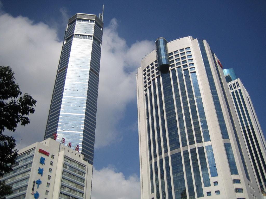 Wieżowiec w Shenzhen