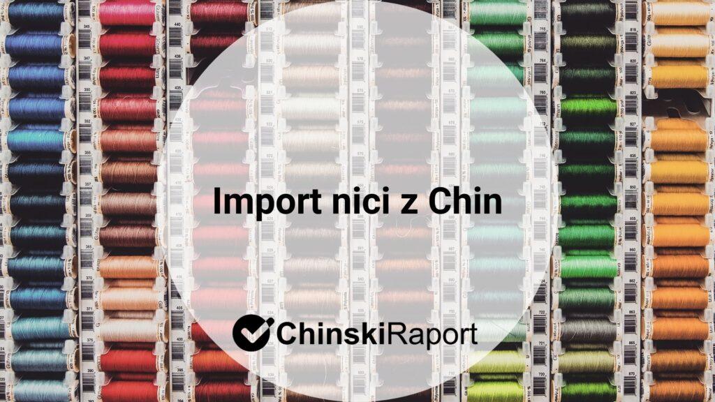 Import nici z Chin