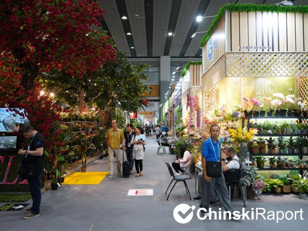 Tianjin targi sztucznych kwiatów