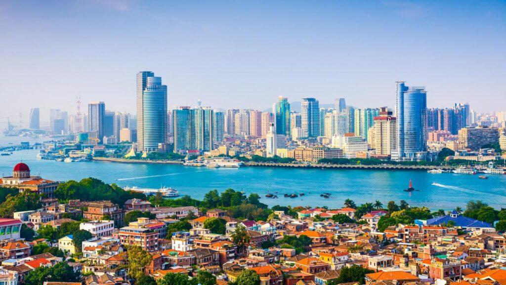 Miasto Xiamen