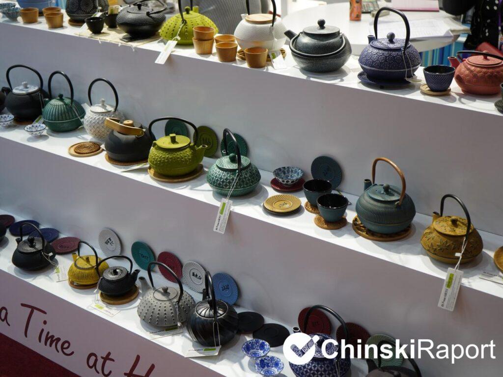 Naczynia ceramiczne z Chin
