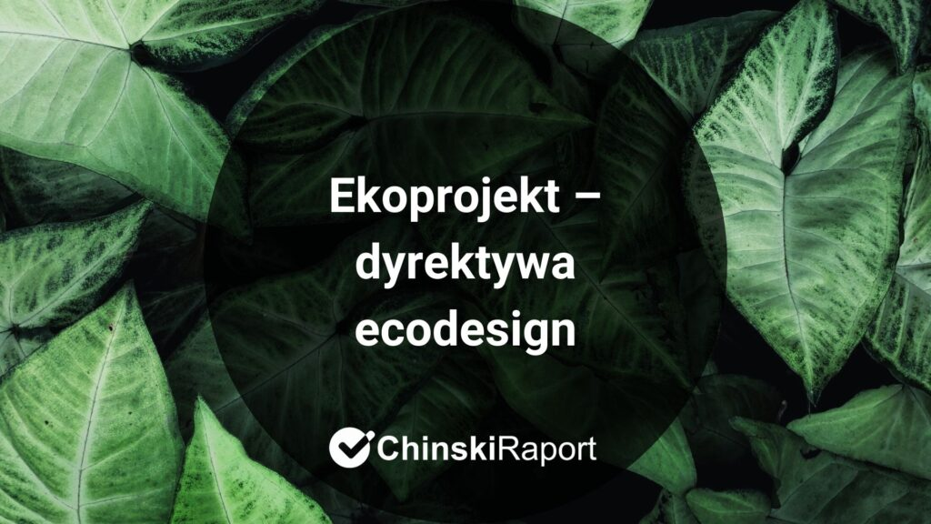 Ekoprojekt 2009/125/WE