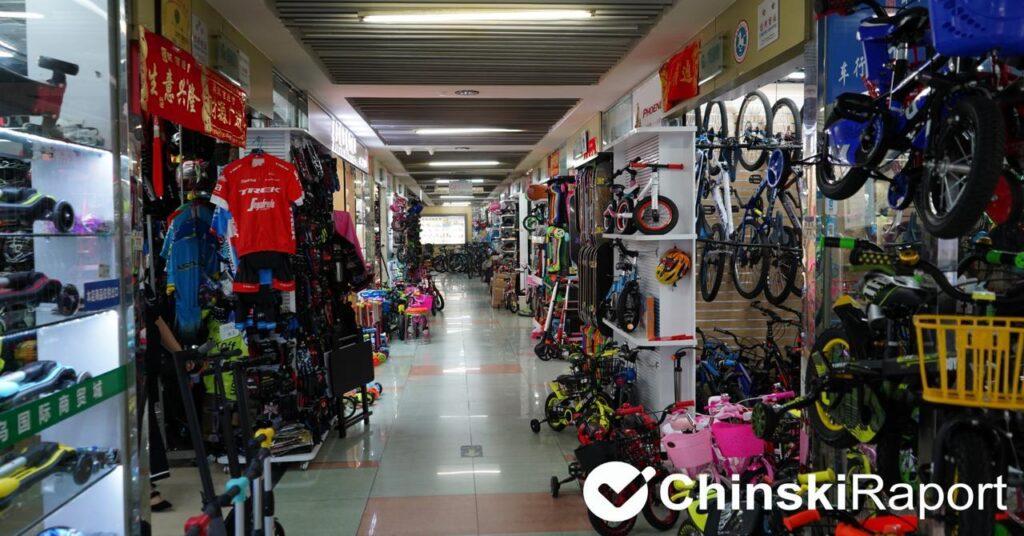 Akcesoria sportowe z Chin