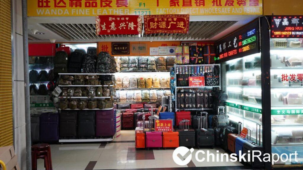 Walizki z CHin