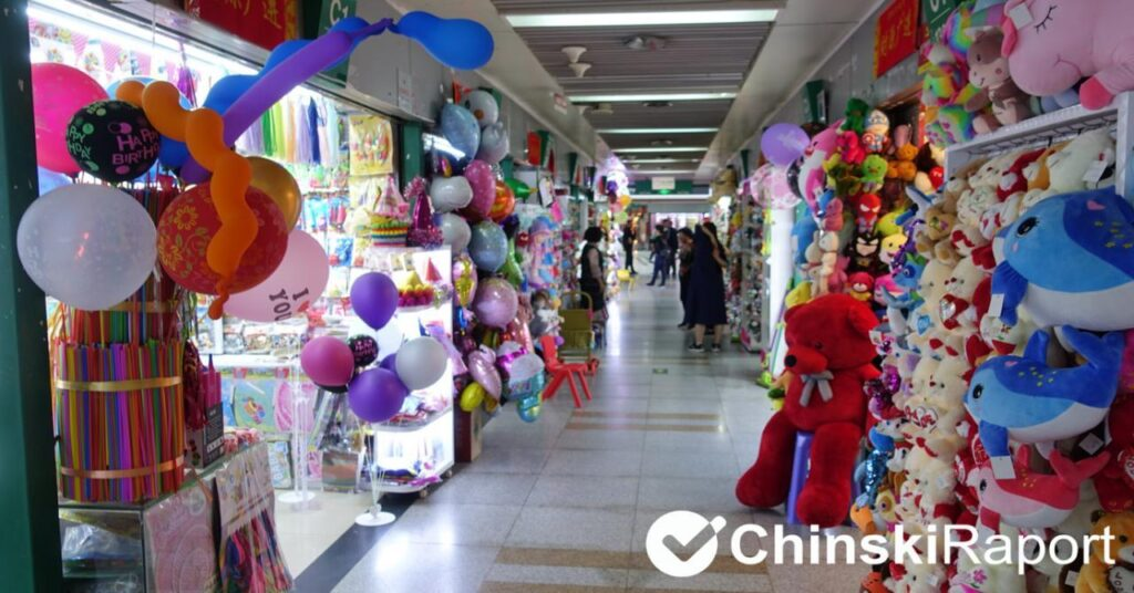 Zabawki z Chin