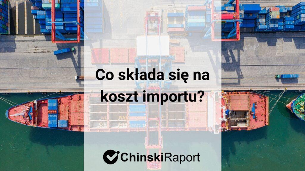 Koszt importu
